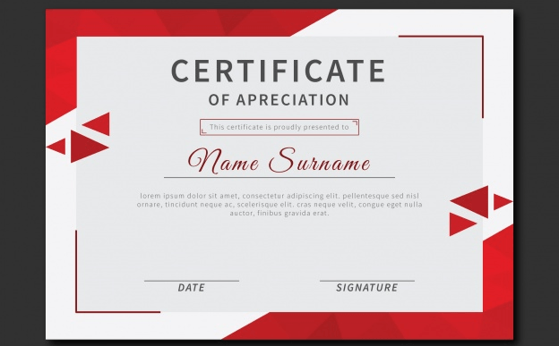 50 multipurpose certificate templates and award designs
