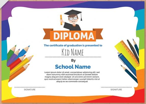 printable award certificates for kids