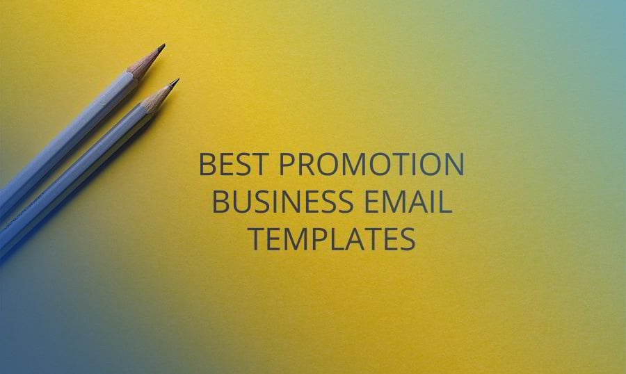 15 best promotion email templates for your business
