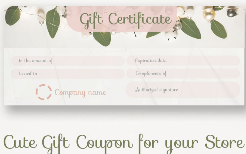 50 multipurpose certificate templates and award designs for business gift coupon certificate template yelopaper Images