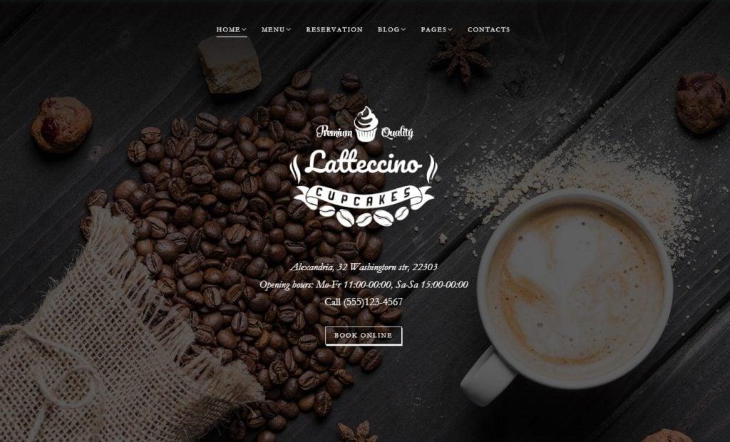 coffee wordpress themes