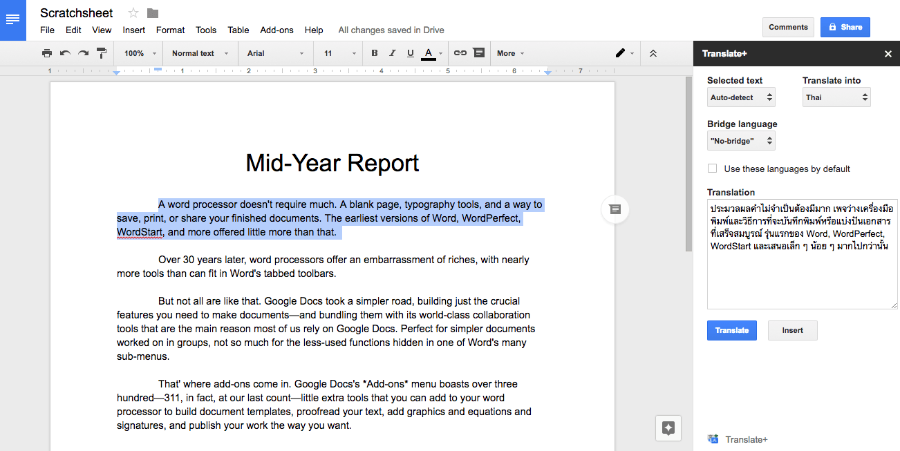 Best Addons For Google Docs