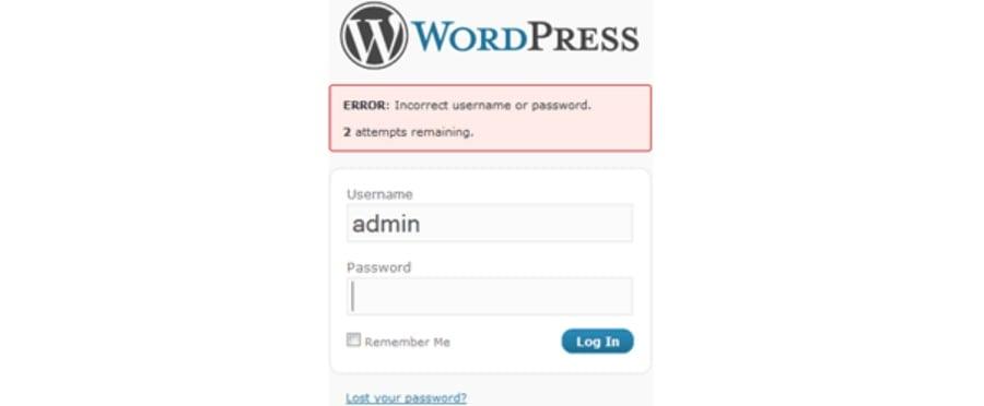 wordpress security 2018