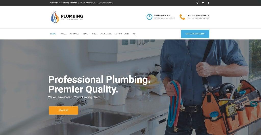 plumbing-theme