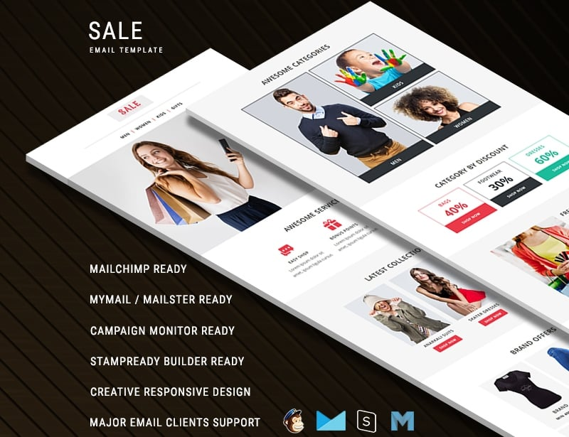 Sale - Responsive Newsletter Template