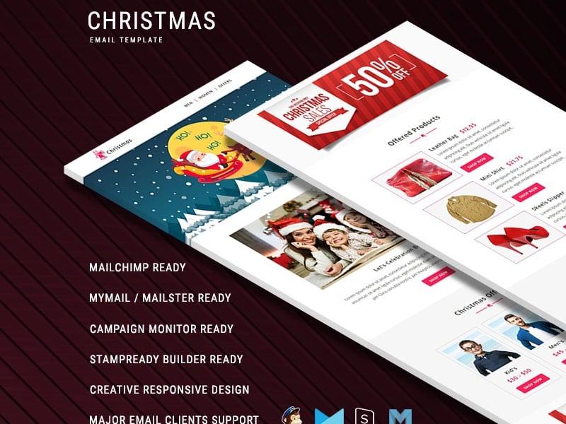 Christmas - Responsive Newsletter Template