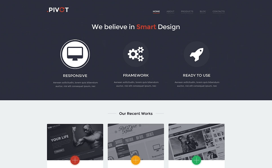 Unobtrusive Design Studio WordPress Theme