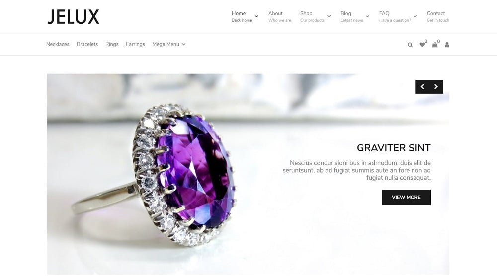 Save 35% OFF on this product Hurry up! It's a limited time proposition. 22hrs 1min 21sec Old Price: $94 Jelux - Jewelry & Accessories WooCommerce Theme