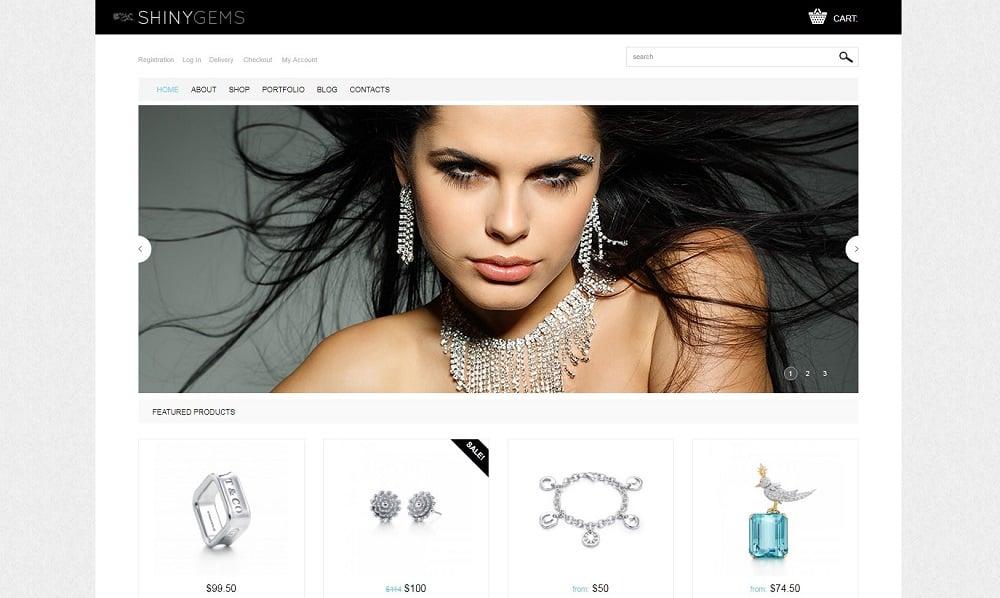 Sparkling Jewels WooCommerce Theme