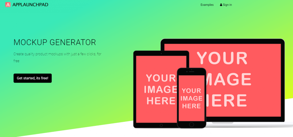 how to create a realistic mockup using free mockup generators
