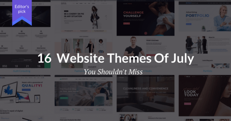 16 cool website templates to launch conversion oriented sites in 2018