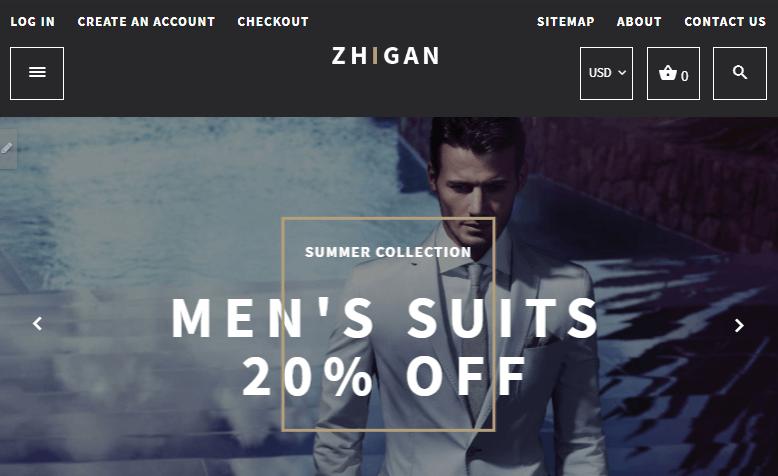 Zhigan Shopify Theme