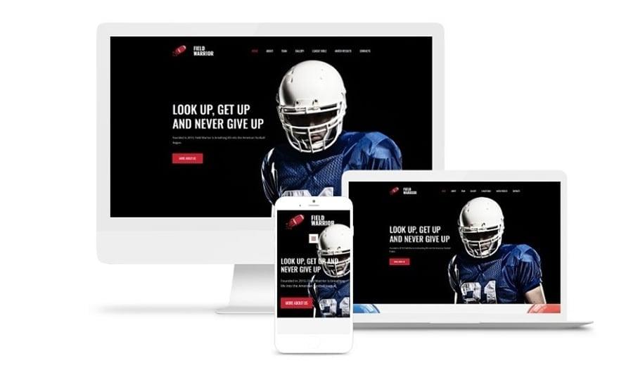 Football Website Design