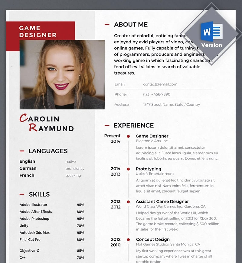 Eager to learn resume