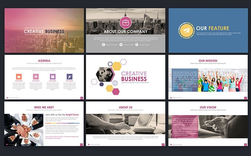 Creative Business - PowerPoint Template