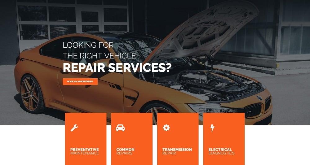 Engirem - Car Repair Pro Elementor Template
