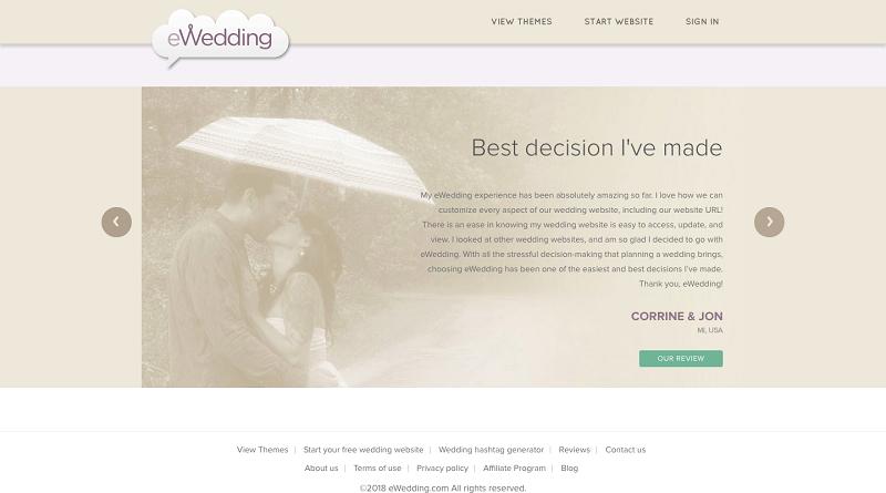 ewedding clients