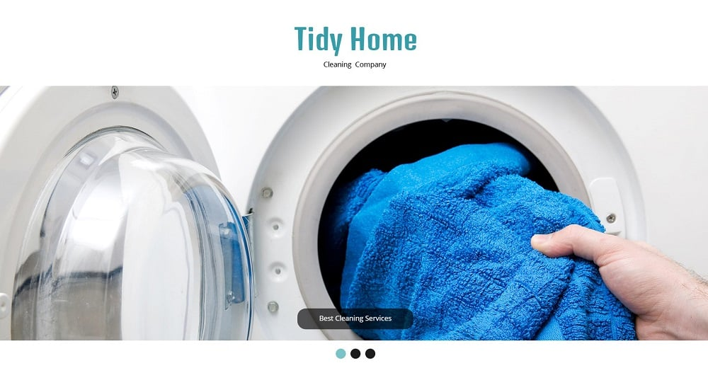 Free HTML5 Theme - Cleaning
