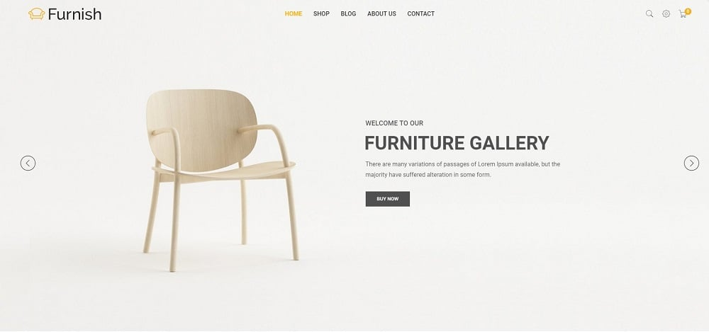 Furnish - Minimal eCommerce Furniture Shopify Theme