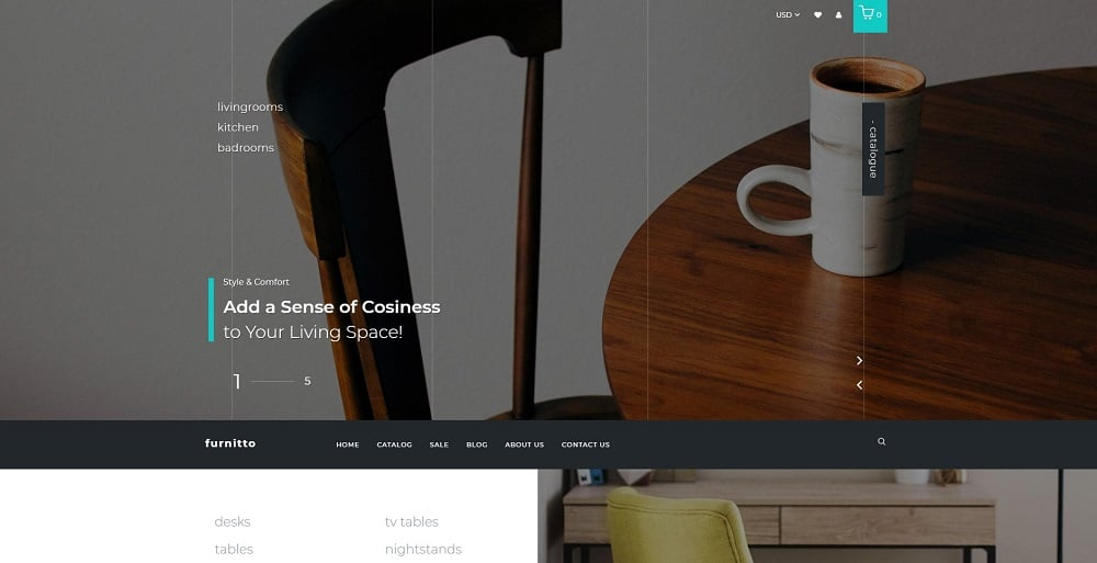 Furnitto - Furniture Store Shopify Theme
