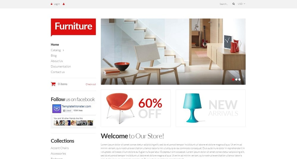 Furniture Pieces Shopify Theme