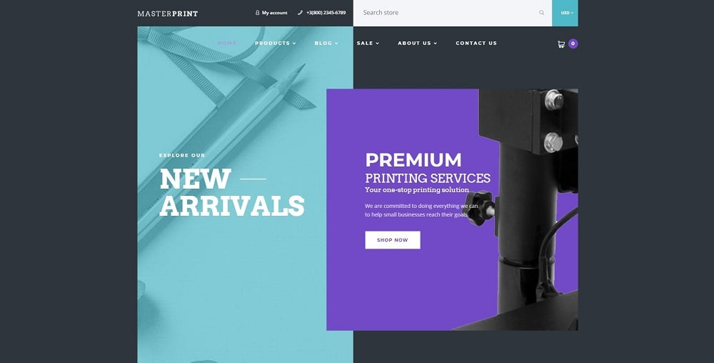 Master Print - Print Shop Shopify Theme