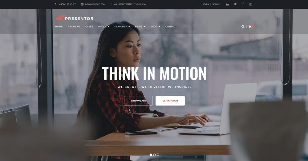 Presentor - Business WordPress Theme