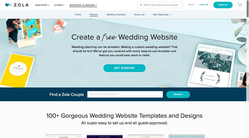 10 best wedding website builders september 2018