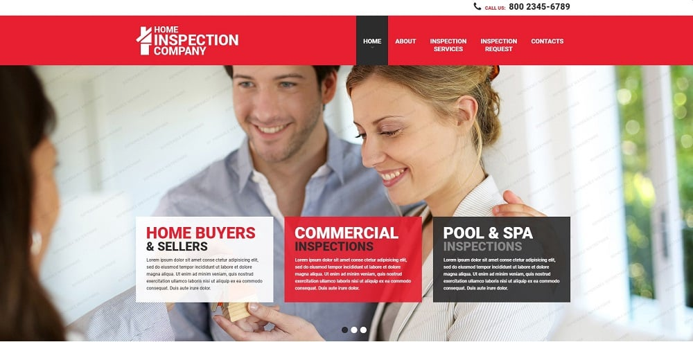Mortgage Responsive Website Template