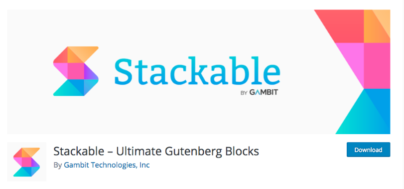 Stackable – Ultimate Gutenberg Blocks
