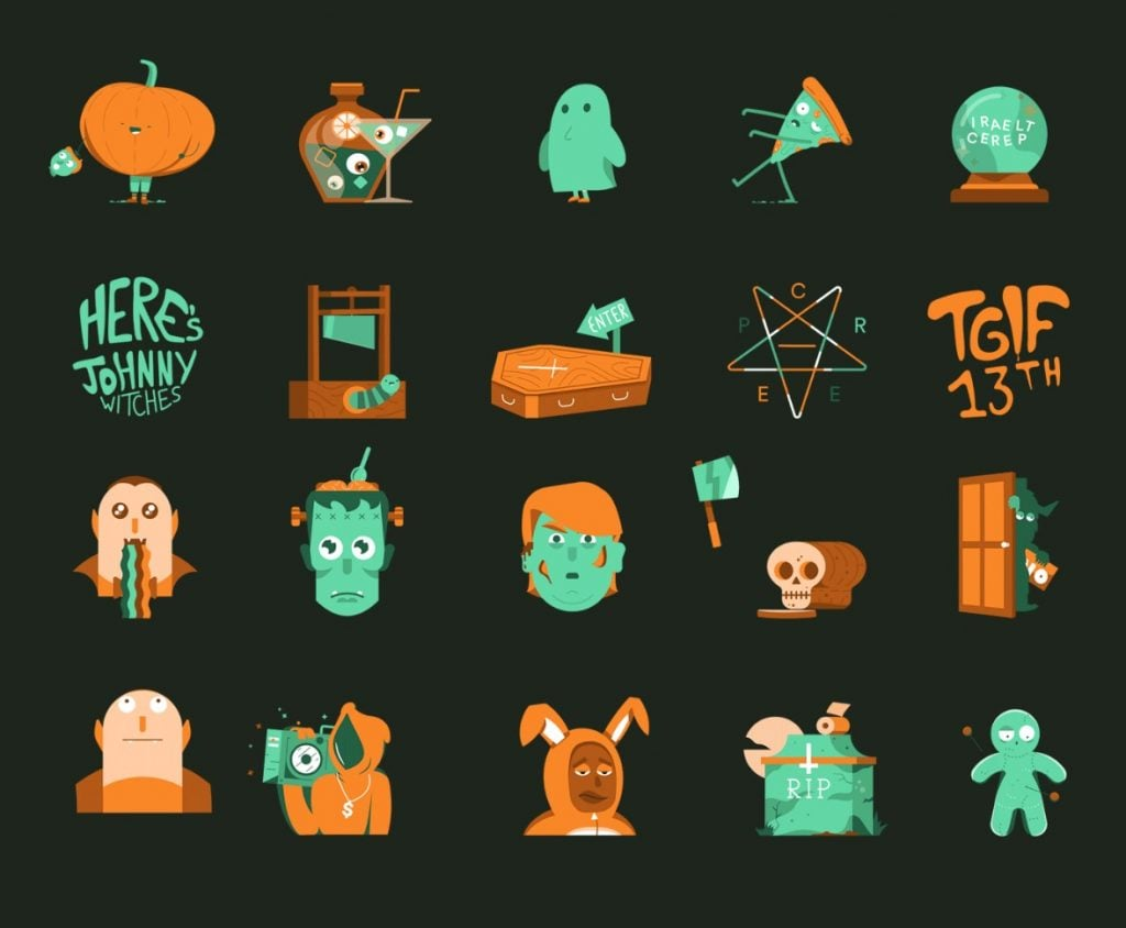 Animalloween-Animated-sticker-pack