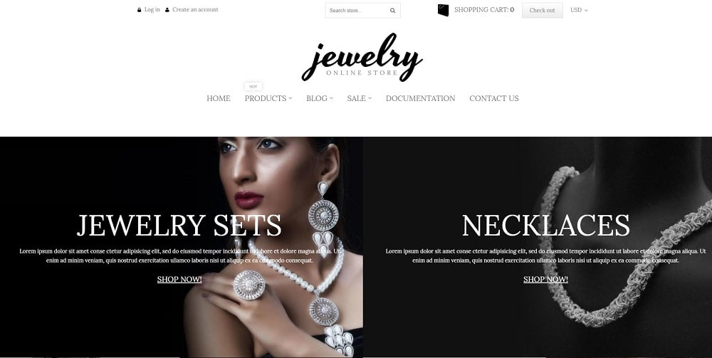 Charming Jewelry Shopify Theme