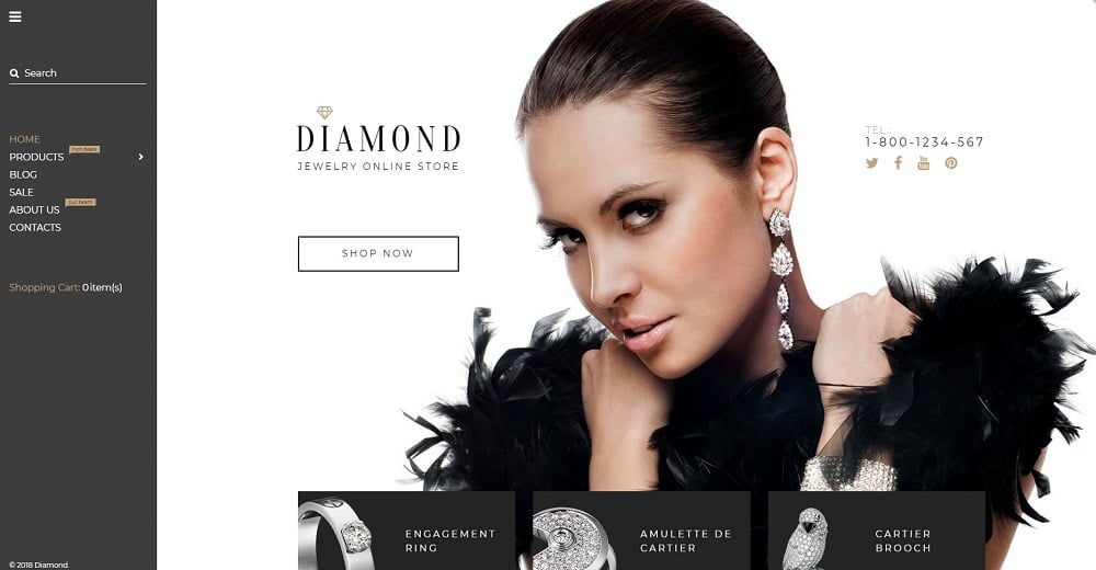 Diamond Shopify Theme