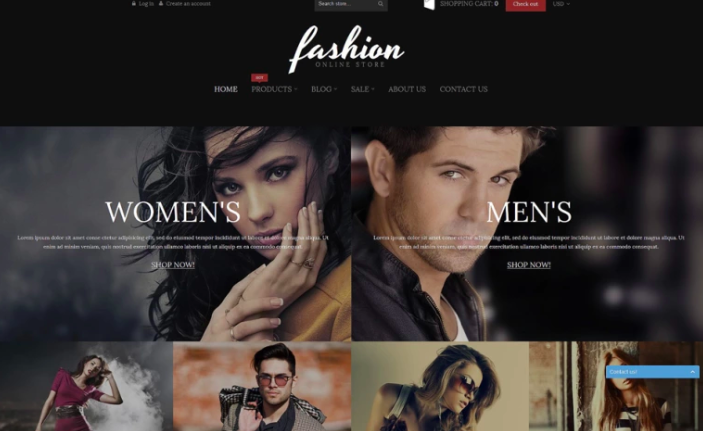 Fashion Online Store Shopify Theme