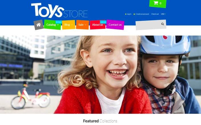 Fun Toys Shop Shopify Theme