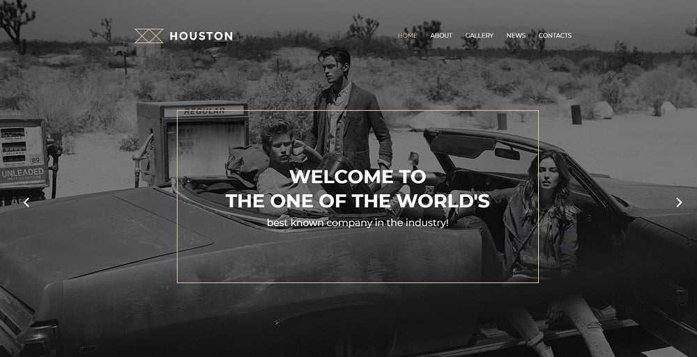 Houston WordPress Theme