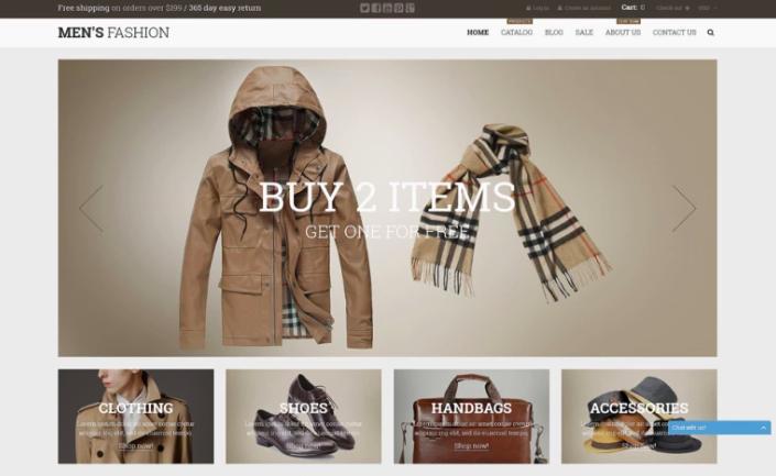 Male Fashion Shopify Theme