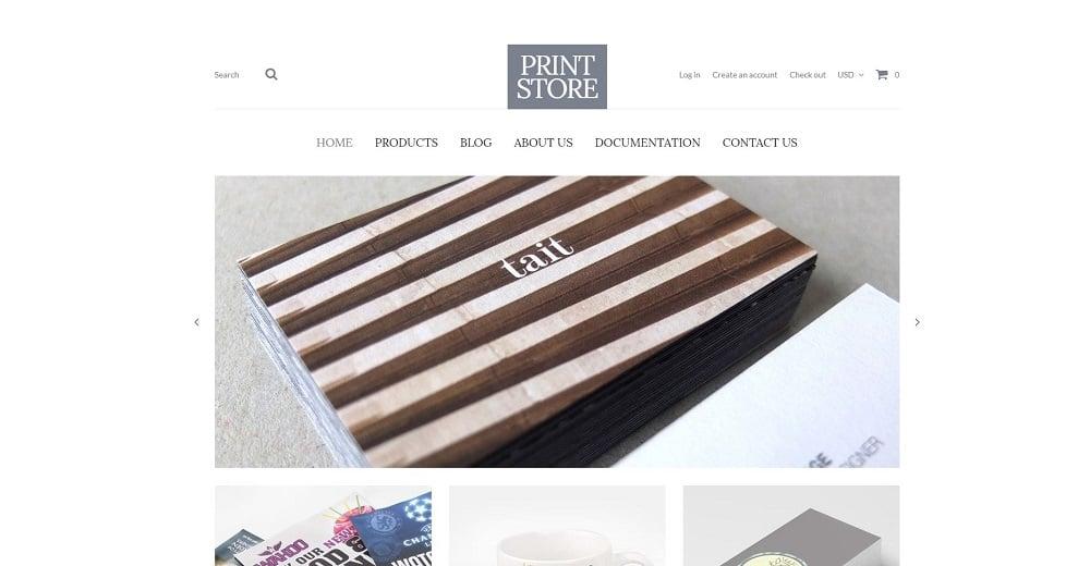 Modern Print Solutions Shopify Theme