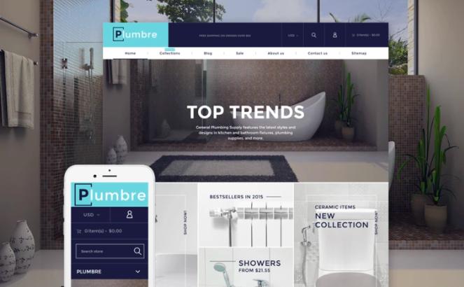 Plumbre - Plumbing & Building Parts Shopify Theme