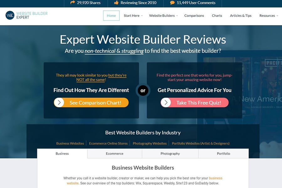 Website Builder Expert