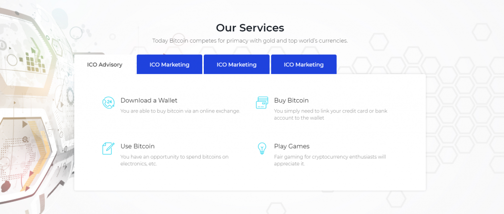 cryptocurrency website