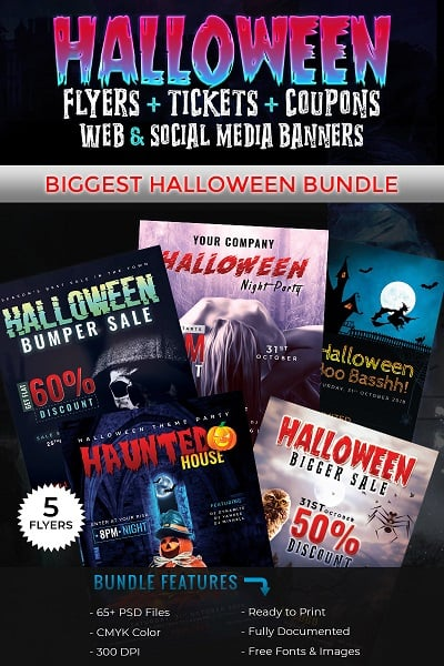 Halloween Big Bundle - Bundle