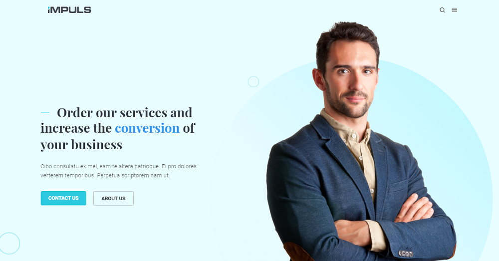 Impuls - Minimal Creative Business Elementor WordPress Theme