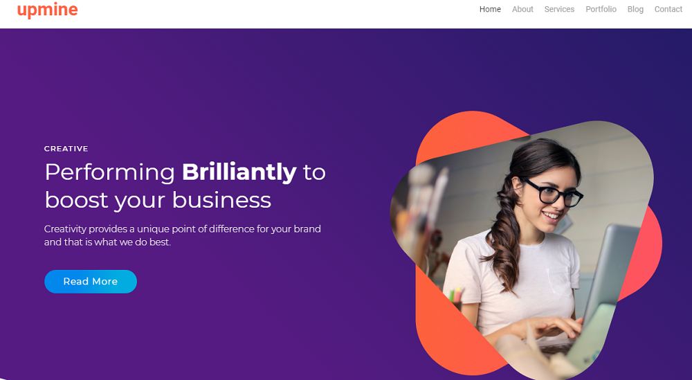Markent - Digital Agency Jet Elementor Template