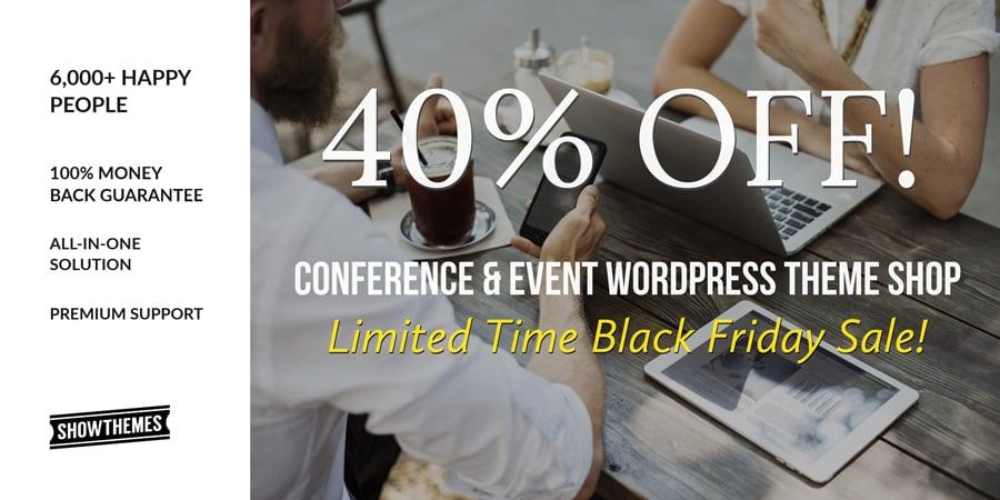 WordPress Event Themes