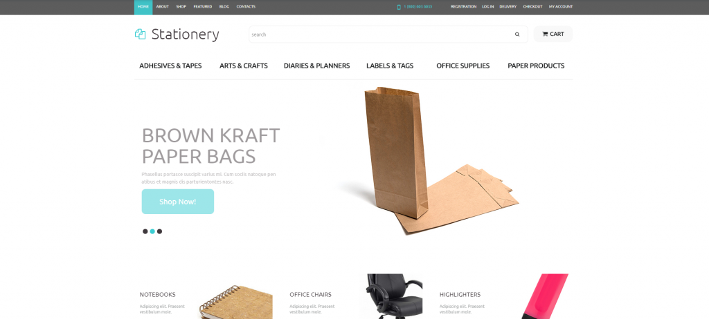 Business WooCommerce Themes