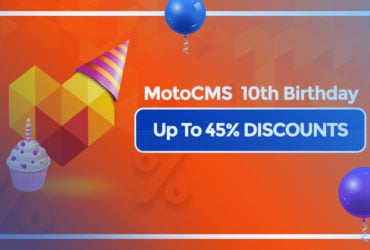 Reliable Website Builder: Great Sale to Celebrate MotoCMS 10 Years' Anniversary