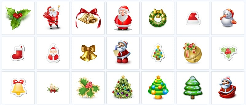 Christmas Icons by Find Icons