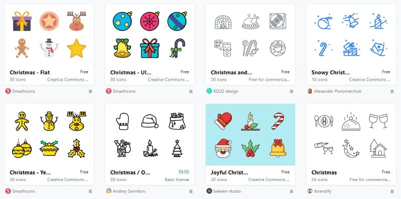 Christmas Icons by Icon Finder