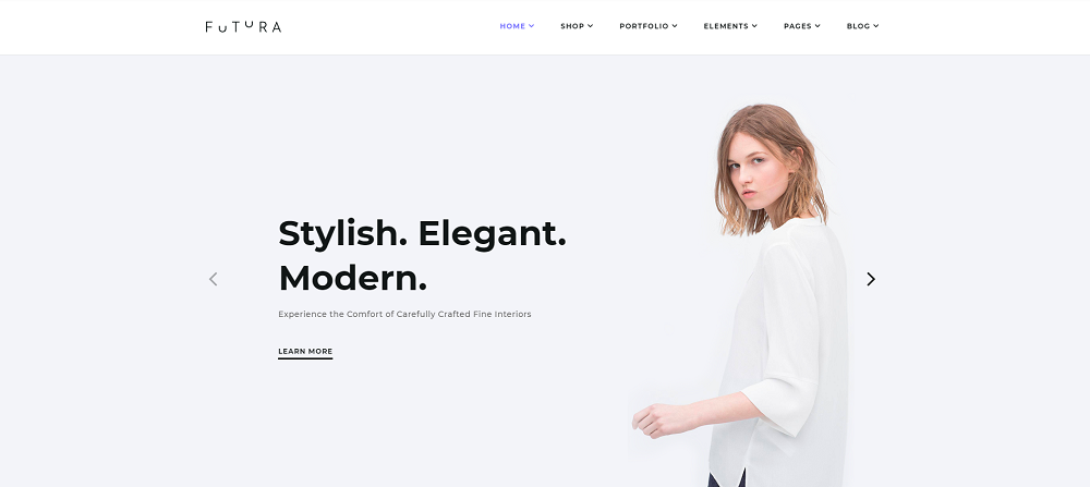 Futura - MultiPurpose High-Perfomance Elementor & WooCommerce Theme